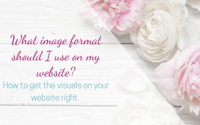 What image format should I use on my website?
