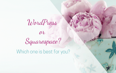 Should you use Squarespace or WordPress for your new website?