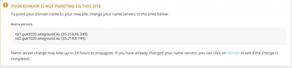 named server settings