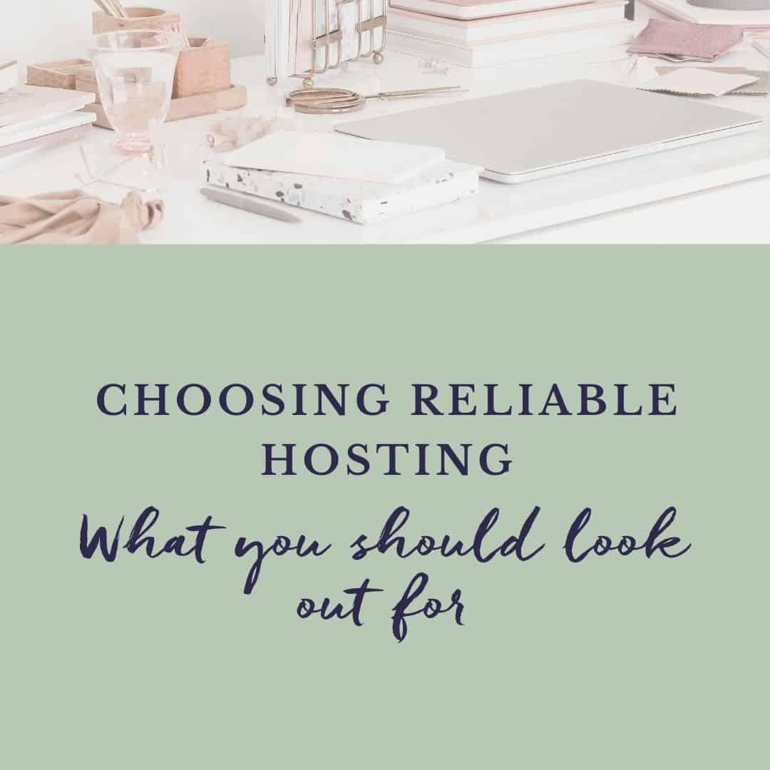Choosing wordpress hosting