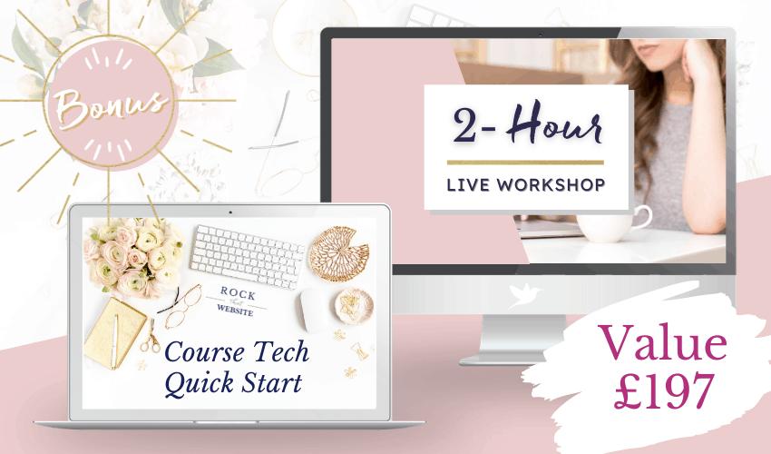 Course Tech Quick Start Workshop