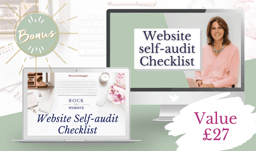 Website self-audit Checklist