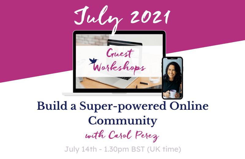 July Workshop