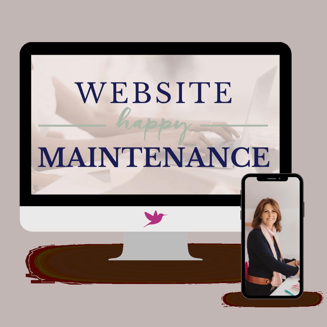 Website Happy Maintenance